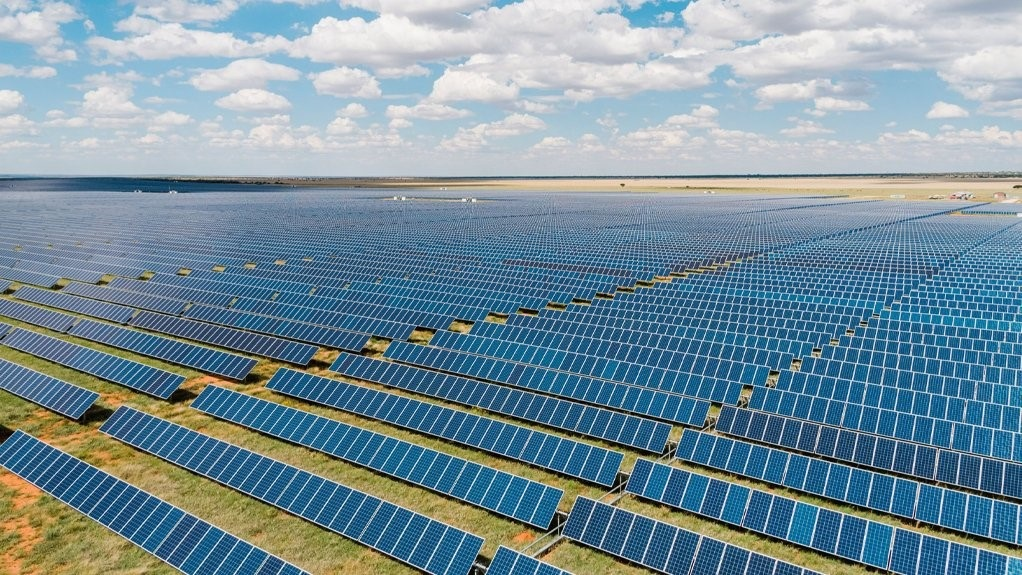 The 86MW Waterloo solar park in South Africa's North West province. Image juwi.