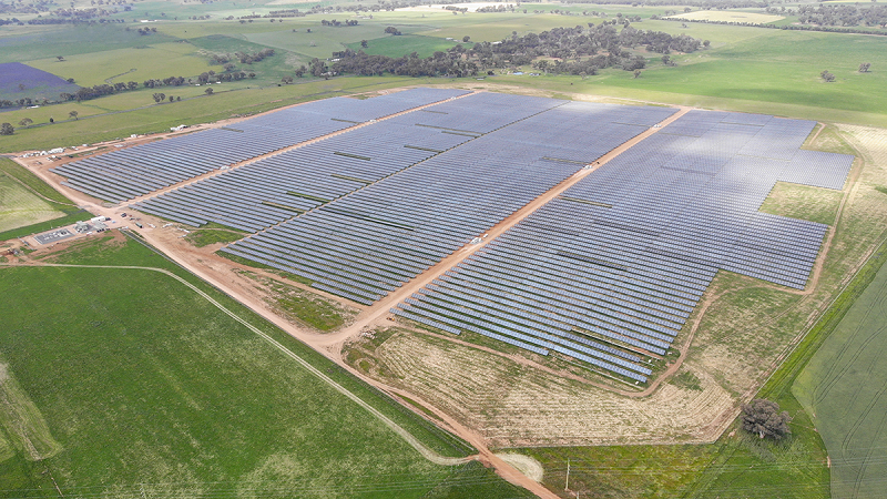 Amp Energy closes financing for 120MW solar project in New South Wales